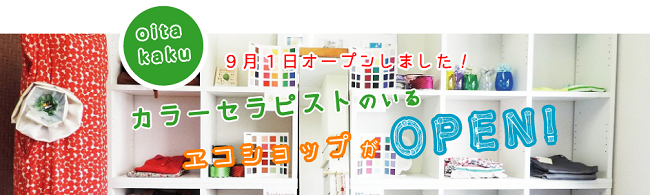 色の専門家のいるエコショップ「Kei's Color」様ホームページ